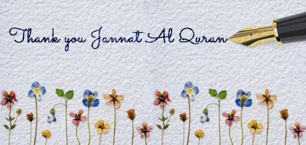 Testimonials | learn Quran online | Jannat Al Quran