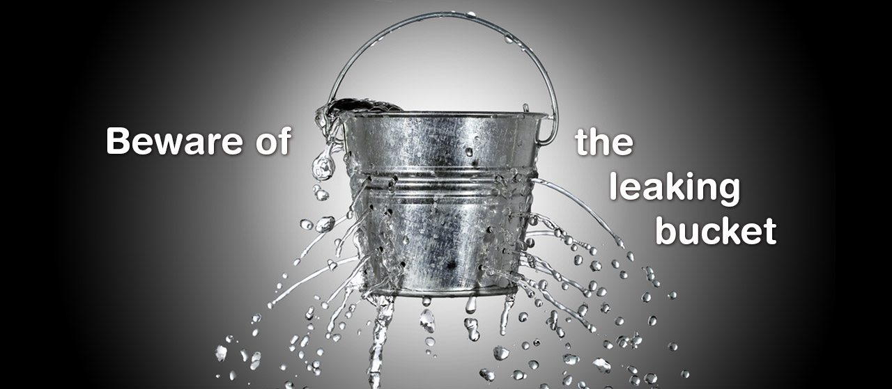 Do not gather all your good deeds in a leaking bucket | Jannat Al Quran
