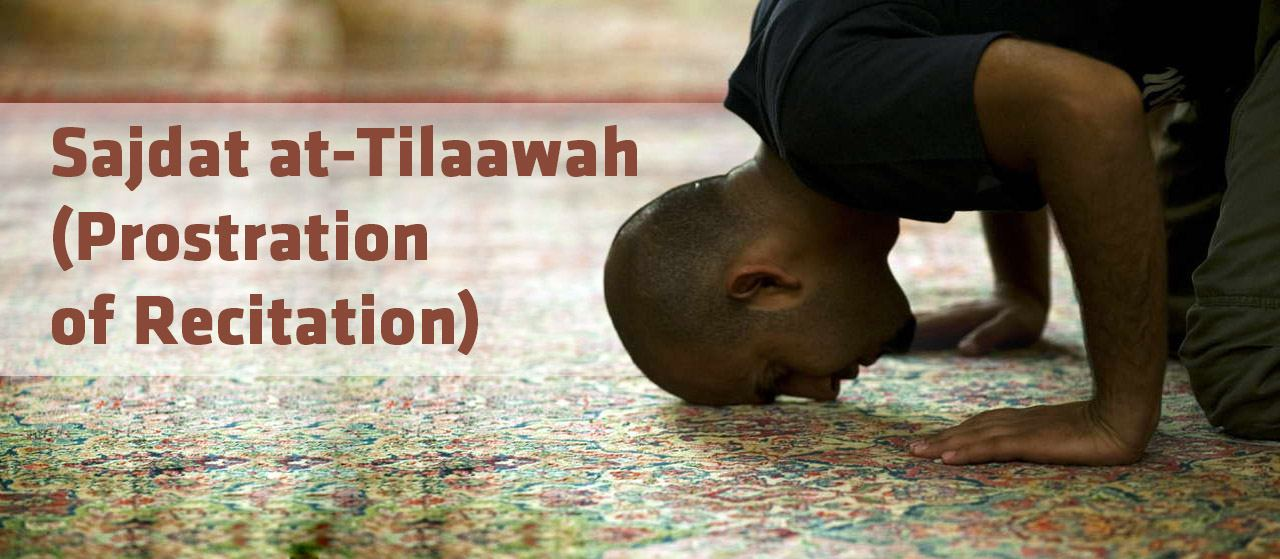 Sajdat at-Tilaawah (prostration of recitation) | Jannat Al Quran